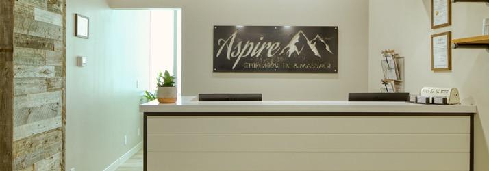 Aspire Chiropractic & Massage Receptionist Area